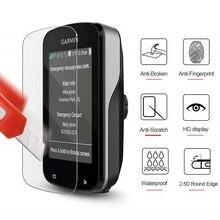 VSKEY 50 個強化ガラスガーミンエッジ 830 820 530 520 130 1030 1000 スクリーンプロテクター GPS 保護フィルム