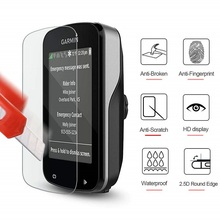 VSKEY 50PCS Tempered Glass For Garmin Edge 830 820 530 520 130 1030 1000 Screen Protector GPS Protective Film