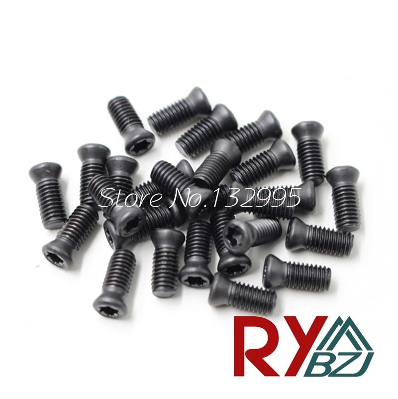 20pcs/lot M2.5/M3/M3.5/M4/M5*L Grade 12.9 Insert Torx Screw Replaces Carbide Inserts CNC Accessories Lathe Tool/Blade Cutter Bar m