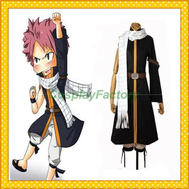 Free Shipping Fast Custom Made Fairy Tail Anime Cosplay Natsu