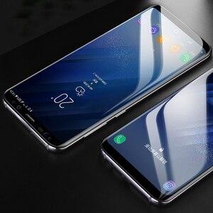 Image 4 - CHYI 3D kavisli Film Samsung A50 a30 Galaxy S10 5G S10 + S10E S8 S8 + S9 S9 + Not 9 10 artı ekran koruyucu değil temperli cam