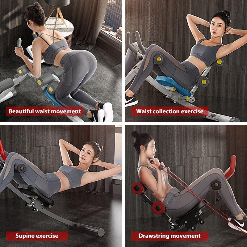 Men/Women Abdominal Fitness Abdominal Lazy Abdominal Machine Home Female Volume Abdominal Training Abdominal Beauty Waist Machin