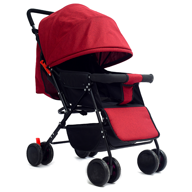 High Quality Lightweight Baby Stroller Folding Stroller For Baby Portable Traveling Pram Baby Carriage Children Pushchair summer mosquito net travel folding portable four wheel cart carriage reversible car baby stroller lightweight pram pushchair