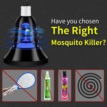 E27 LED Mosquito Killer Lamp USB 5V Electronics Anti Bulb 220V Fly Bug Zapper Insect Trap Lights 110V 2 in 1