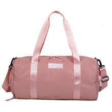 Sports Gym Bag with Wet Pocket & Shoes Compartment Waterproof Swim Overnight Travel Duffel Bag for Women стоимость