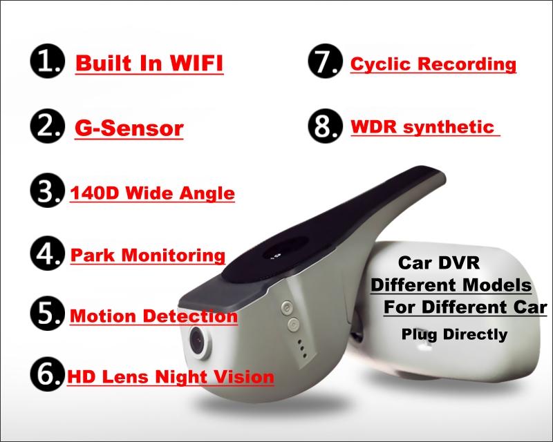 וולוו מצלמת V40 DVR 7