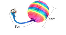 1 Pcs Colorful Ball Toy For Cats