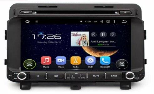 옥타 코어 2 기가바이트 RAM 안드로이드 6.0 자동차 DVD GPS 네비게이션 멀티미디어 플레이어 자동차 스테레오 기아 K5/옵티마 2014 라디오 Headunit