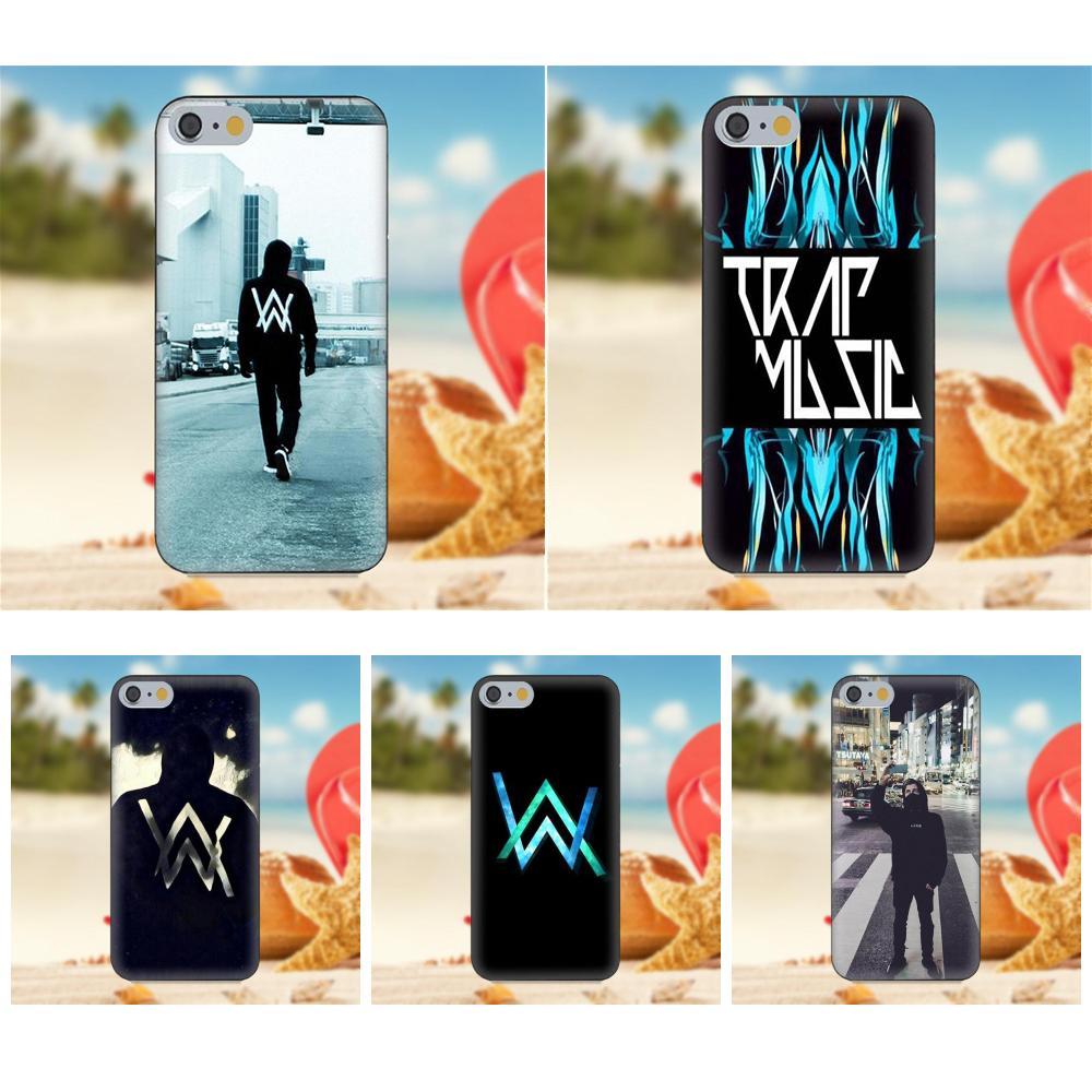 Soft TPU Phone Case Alan Walker Design For Apple iPhone 4