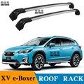 SHITURUI 2 шт штанги на крышу для SUBARU XV e-Boxer SUV 2019 + боковые штанги из алюминиевого сплава поперечные Рейлинги на крышу багажника