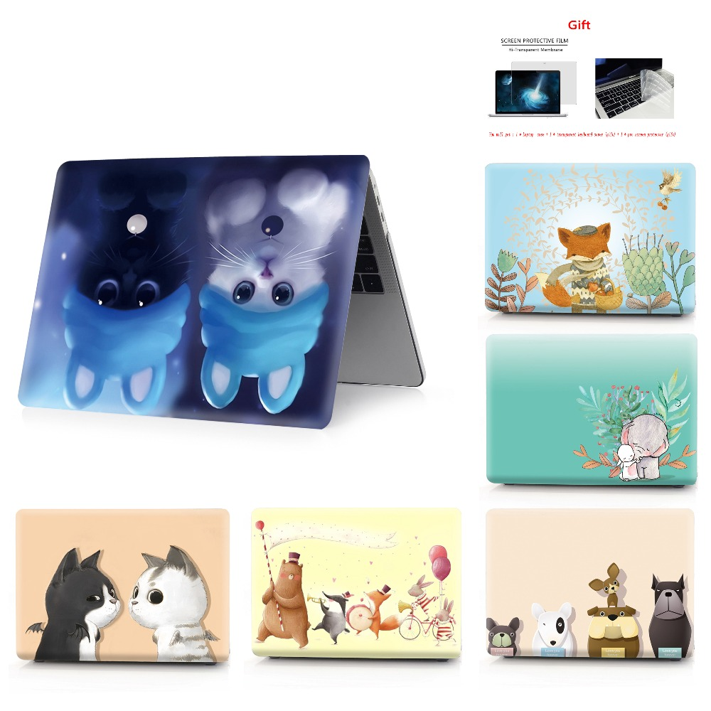 Image 1 - New color printing  notebook case for Macbook Air 11 13 Pro Retina 12 13 15 inch Colors Touch BarNew Pro 13 15 New Air 13-in Laptop Bags & Cases from Computer & Office