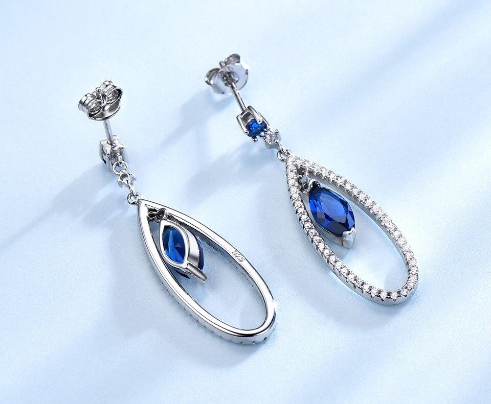UMCHO-925 sterling silver earrings for women EUJ064S-1 (4)