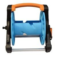 Hot Garden Hose Reel Stand Water Pipe Storage Rack Cart Holder Bracket for 35m 1/2 Inch Hose XJS789