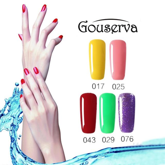 New Arrival 79Colors Gel Nail Polish DIY Nail Art Salon UV Nail Polish 10ML1Pcs Soak Off Gel Lucky Free Shipping Gouserva