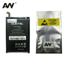 AVY Battery For Oukitel K6000 Pro K6000pro Mobile phone Rechargeable Li-ion Batteries 6000mAh 100% Test стоимость