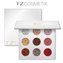Brand 9 Colors Glitters Eyeshdow Pallete Glitter Diamond Pressed Glitters Eyeshadow Palette Make Up Cosmetic Drop Shipping