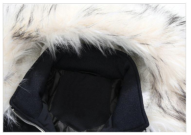 Autumn Winter Jacket Men 18 New Big Fur Hooded Thick Warm Mens Winter Coats Patchwork Color Windproof Parka Men Outwear 7