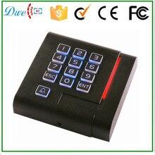 Free delivery 2015 new design 125Khz wiegand 26/34 keypad card reader entry management