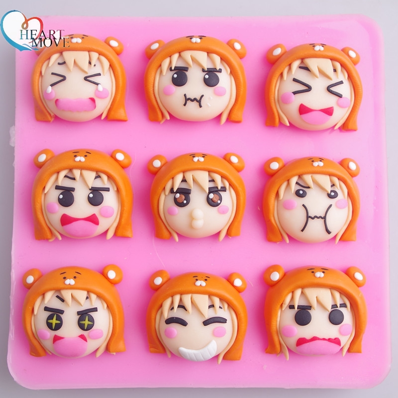 Cake Molds Kitchen,dining & Bar Heartmove Diy Cute Fox Cake Chocolate Cookies Ice Cube Soap Silicone Mold Tray Baking Mold Personality Expression Ice Mold 9193 Rich In Poetic And Pictorial Splendor