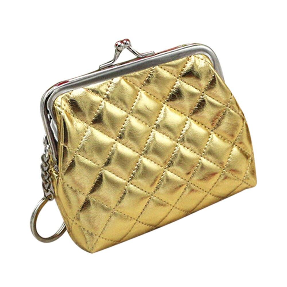 2018 Women Small Coin Purse Leather Wallet Female Pouch Purse Wallet Ladies Mini Clutch Money Bag Handbags
