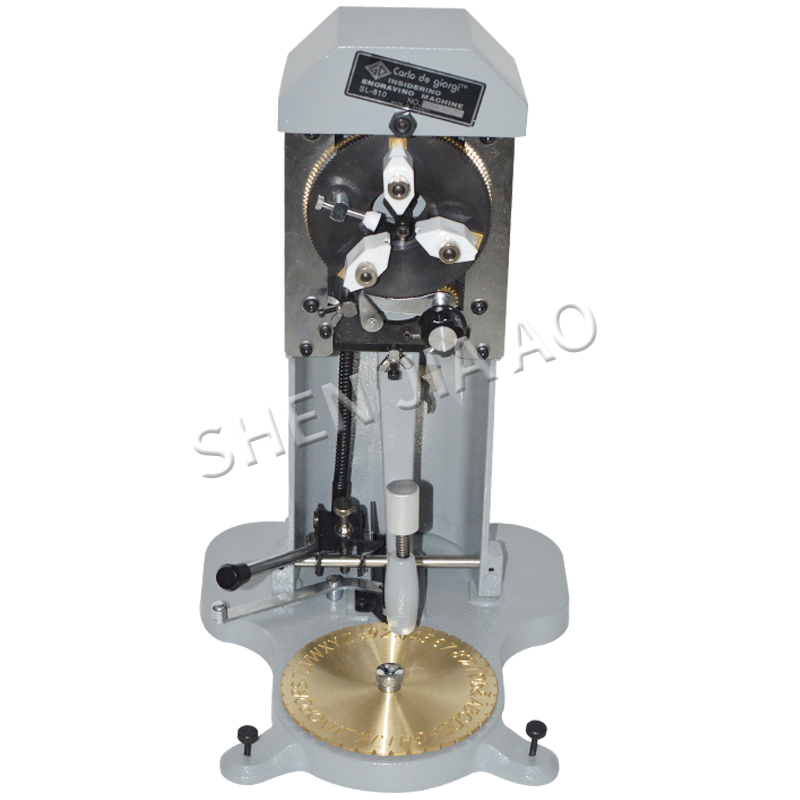 SL 810 Ring inner hole carving machine,Ring Engraver, Number,Letter engraving machine,jewellery gold carving tools