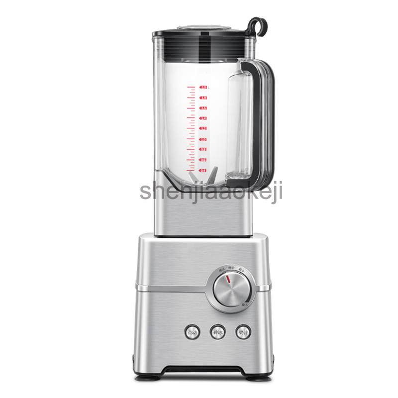 2L Commercial ice crusher ice shave machine Multifunction Juice Machine/High Speed food Fruit Blender 220v 2000w1pc