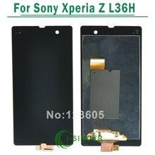AAA Calidad de la Pantalla LCD Full + Digitalizador de Pantalla Táctil Para sony para xperia z l36h l36 c6603 c6602 l36h + free gratis