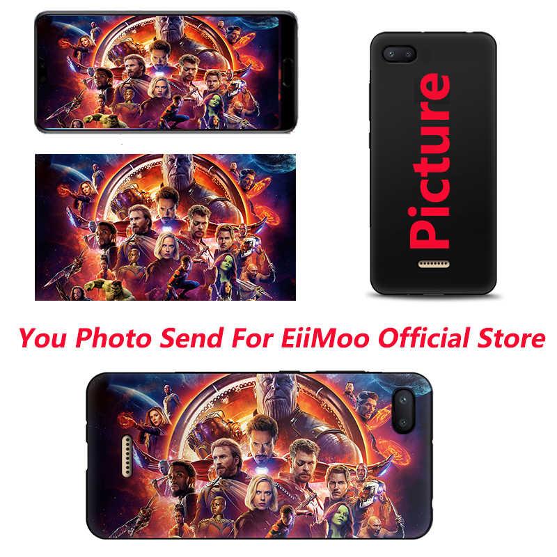 EiiMoo özel telefon kapak Xiaomi Redmi için 6A 4A 7A 4X 5 artı S2 Y2 K20 9T Pro DIY resim fotoğraf xiaomi Redmi için 6 Pro