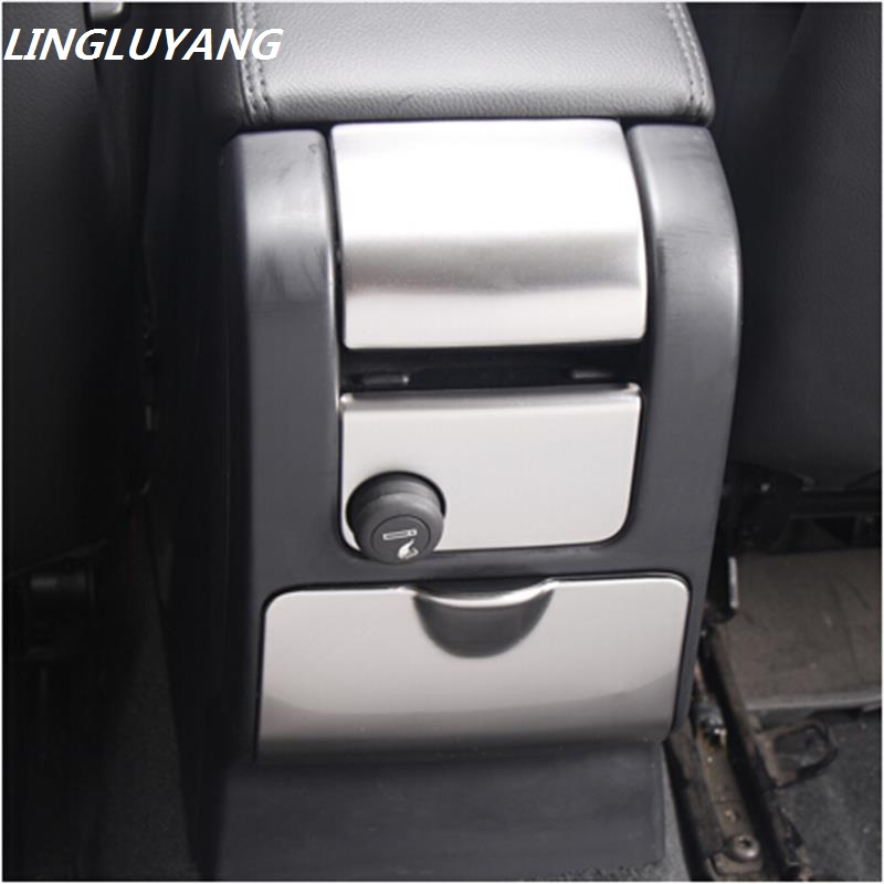 Auto Styling spetsiaalne auto käetugi kast dekoratiivne katte tagumine tuhatoos riba auto tarvikud 3D kleebis Volvo XC60 S60 V60 jaoks