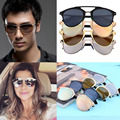 New Classic Large Sunglasses Women Metal Frame Cat Eye Glasses Fashion 2016 Fashion