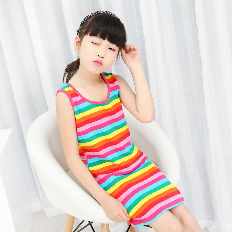 Retail 2 11Age Baby girl dress high quality summer cotton child dress girl  wear kids clothes children dress baby girls clothes 24b6076d8bd8