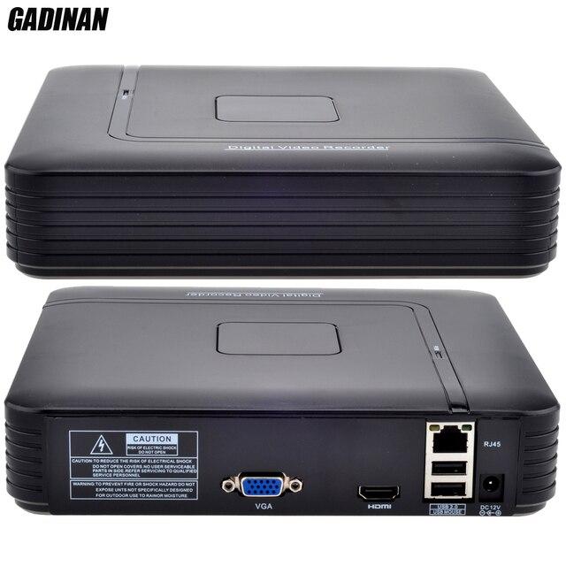 GADINAN Mini NVR 8CH 1080 P o 12CH 960 P NVR HDMI Red cctv grabador de vídeo p2p nvr onvif cctv nvr h.264 motion detection