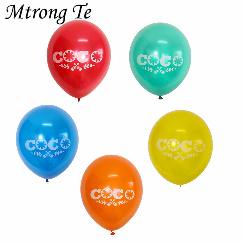 10pcs 10inch COCO Pearl Latex Balloon Inflatable Happy