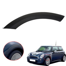 Black Car Wheel Fender Arch Trim Covers on Hood Front LEFT For BMW MINI Cooper One D S R50 R52 R53 2002-2008