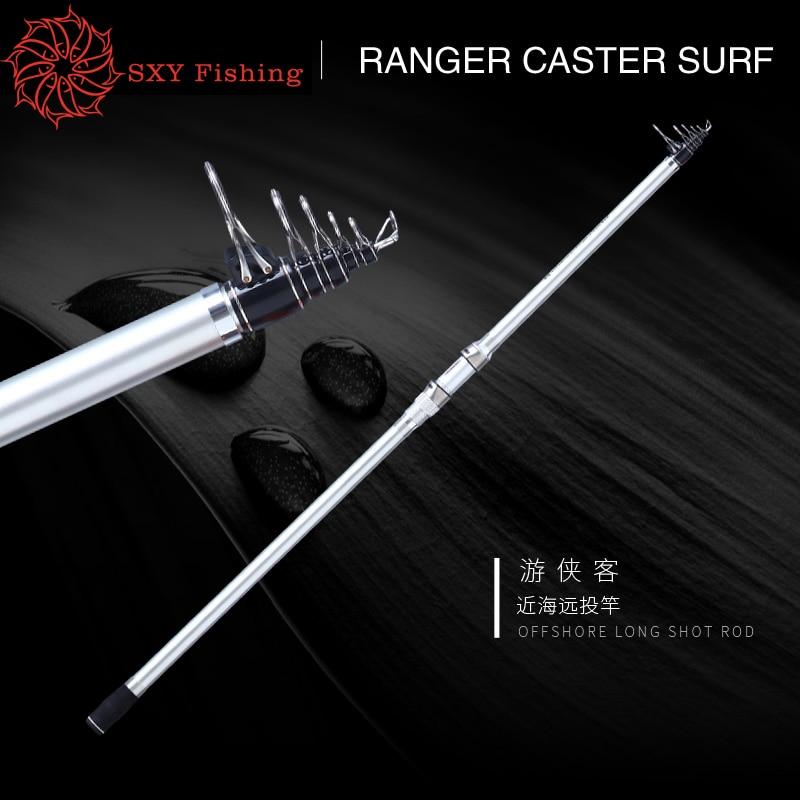 все цены на FREE SHIPPING 2.1M/2.4M/2.7M/3,.0M Telescopic Fishing Rod Distance Throwing Rod Carbon Fibre Body Stainless Steel Ring Long shot онлайн