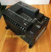 CP1E-N40SDT-D Original New CP1E PLC CPU 40 I/O 24DI 16DO Transistor new original 1769 arm plc specialty i o module