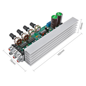 Image 5 - AIYIMA LM1875 5.1 Channel Audio Amplifier Board Subwoofer Amplifiers DIY Sound System Speaker Home Theater 25W*6 Super TDA2030