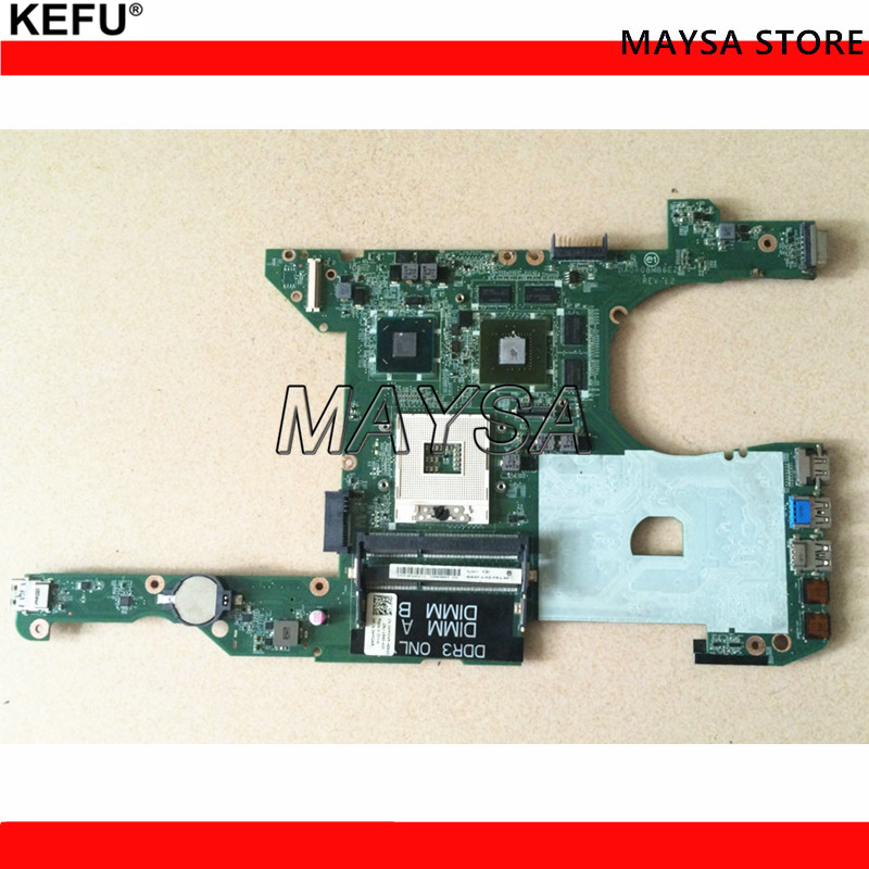 цена на CN-03C38H 3C38H Fit For HP DELL INSPIRON 7420 5420 laptop motherboard DA0V08MB6E1 REV:E1 2G GT640M mainboard NOTEBOOK