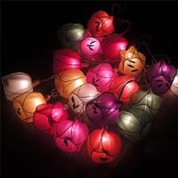 7cm Fairy Tulips Flower 20 LED String Lights Plug Fairy Christmas Light Chain Luminaria Kids Night Light Bedroom Decor Garland
