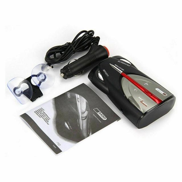 Détecteurs de Radar de voiture Xrs 9880 12V   Auto, affichage Led 360 degrés, Laser Anti-Radar, détecteurs de vitesse de Police, alarme vocale