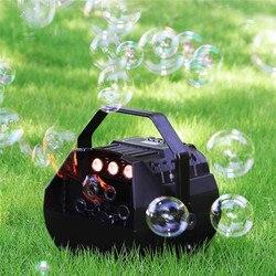 AC90-240V lâmpada led luzes românticas máquina de bolha automática controle remoto ótimo para festas de aniversário do casamento festivais