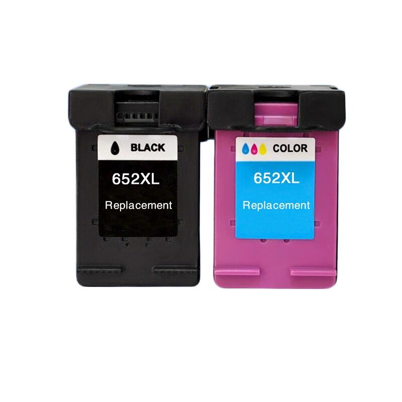 LuoCai kompatible tintenpatronen Für HP652 Für HP 652 XL Deskjet 1115 1118 2135 2136 2138 3635 3636 3835 4535 4536 4538 4675