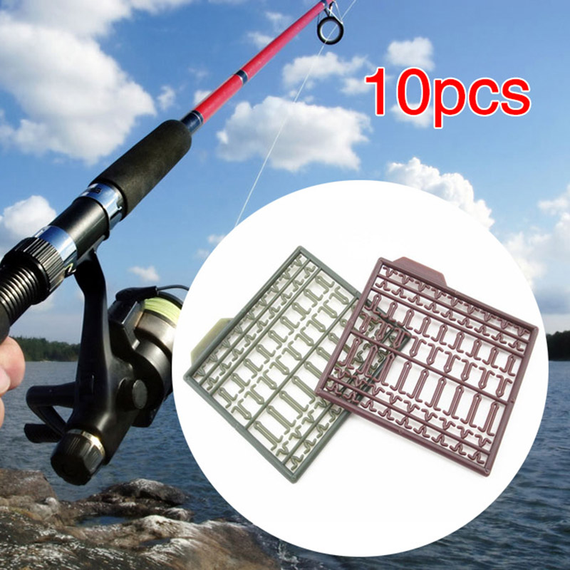 10pcs Carp Fishing Boilie Bait Stops Stoppers Tackle Hair Rig Extender Durable Accessory YS-BUY