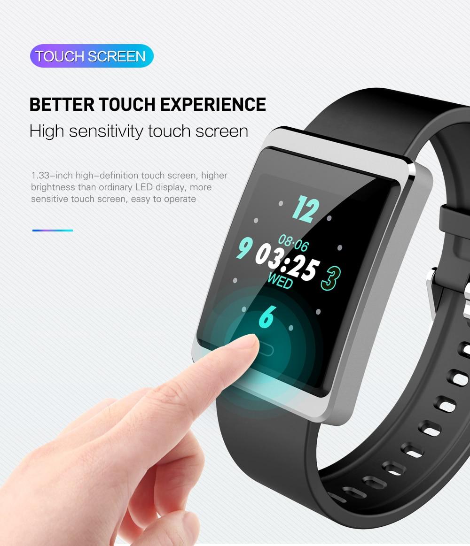 Smartband android ios bt4.0 freqüência cardíaca monitor