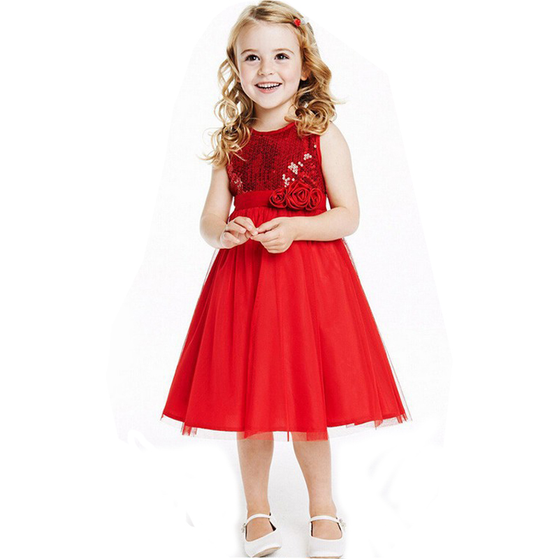 Online Buy Wholesale girls dress red from China girls dress red ...