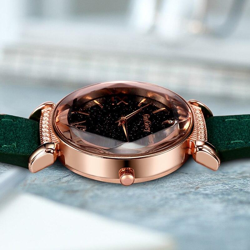 שעון עור לנשים REBIRTH 5