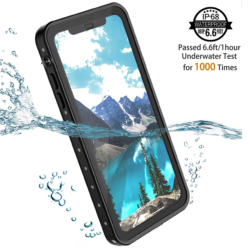 100 Sealed Underwater Diving Case for iPhone XR XS X 360 Full Protect Cover for Apple