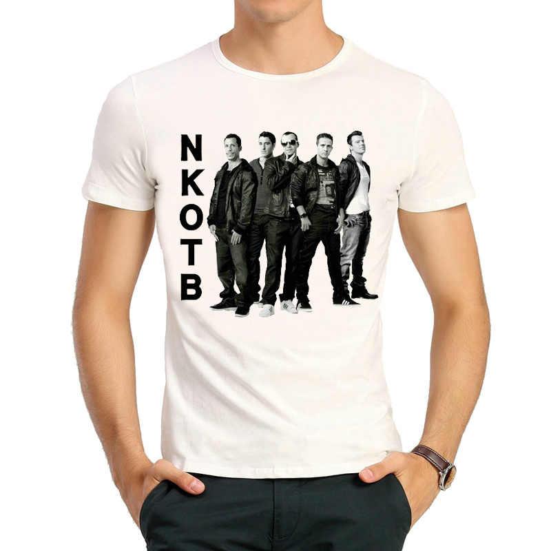 393b81d1 ... New Kids On The Block T-shirt Mens Fashion Short-sleeve NKOTB New Kids  ...