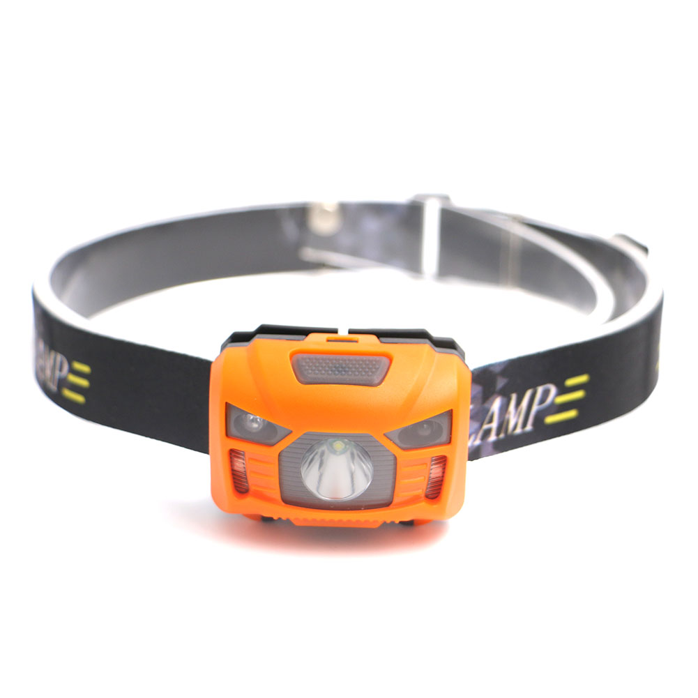 Mini Induction Headlamp USB Rechargeable Lantern Headlamp Flashlight Camp Head Torch built-in 1200mah lithium battery Head Lamp цена