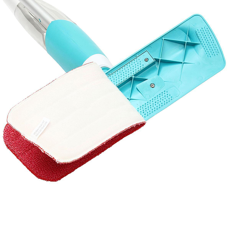 Household Water Spray Flat Mop 360 Spin Head Mop And Red Cleaning Cloth Mop Dry Home Cleaning Tools Mayitr